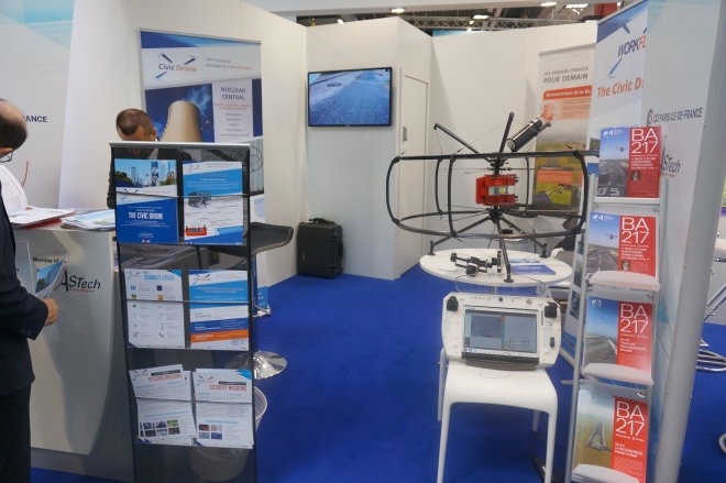 Stand Civic Drone Bourget 2015